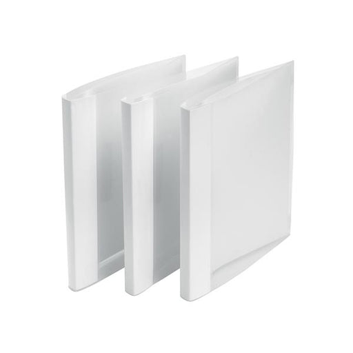 5 Star Office Clamp Binder Polypropylene Clear [Pack 10]