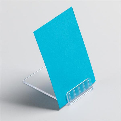 5 Star Office Retail Point Of Sale Table Top Angled Card Holder [Pack 10]