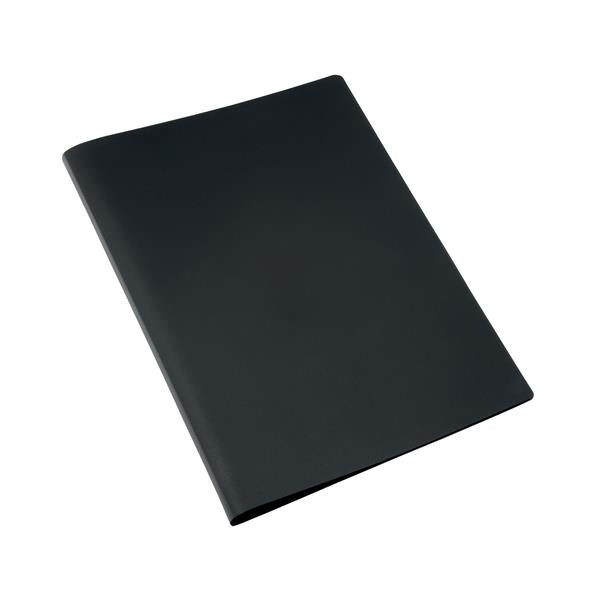5 Star Office Display Book Soft Cover Lightweight Polypropylene 10 Pockets A4 Black