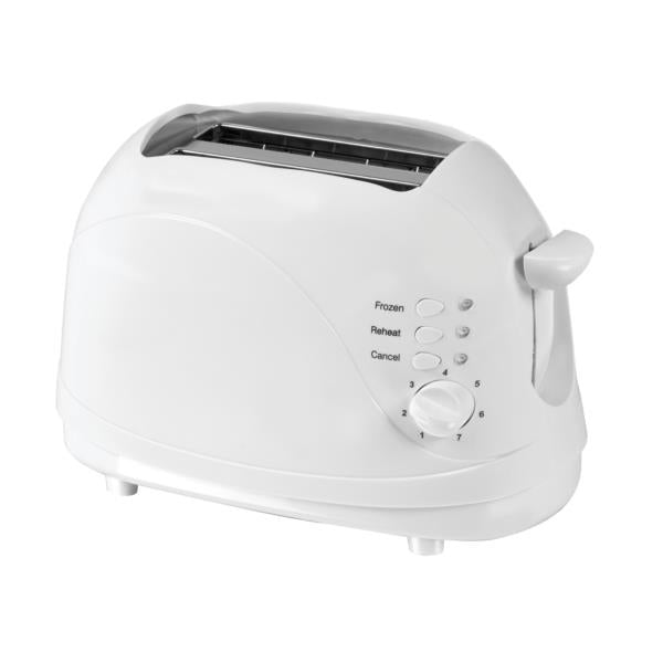 5 Star Facilities Toaster Cool Wall 2 Slice 700W White