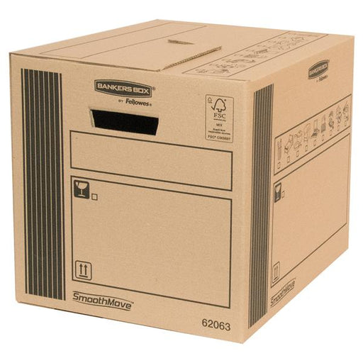 Fellowes Classic Cargo Storage Box 320 x 320 x 400mm [Pack 10]