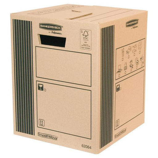 Fellowes Classic Cargo Storage Box 300 x 370 x 300mm [Pack 10]