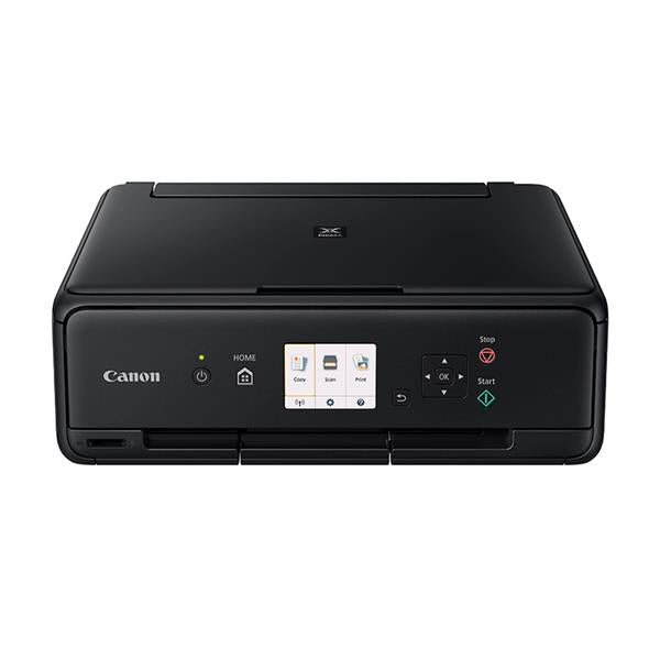 Canon PIXMA TS5050 Multifunction Inkjet Printer USB WiFi 7.5cm LCD Screen Black Ref 1367C008AA