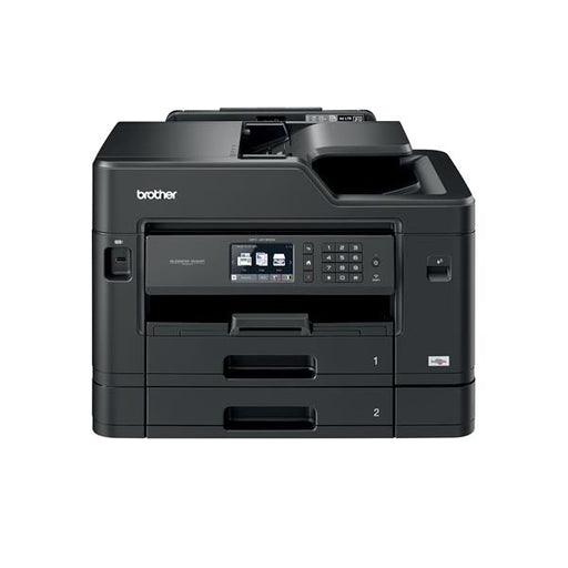 Brother Colour Inkjet Multifunction Printer Wired and Wireless 20ipm A4 Black Ref MFCJ5730DWZU1