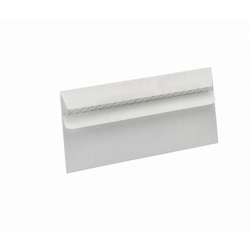 5 Star Eco Envelopes Recycled Wallet Self Seal Window 90gsm White DL [Pack 500]