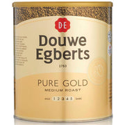 Douwe Egberts Pure Gold Medium Roast Coffee - 750g Tin