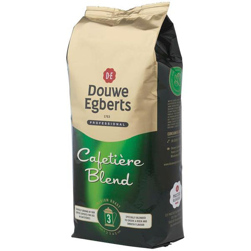 Douwe Egberts Real Coffee Medium Roast For Cafetieres - 1kg Bulk Pack