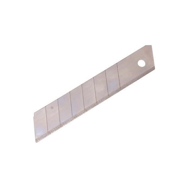 5 Star Office Heavy Duty Snap-off Blades for Cutting Knife 18mm [Pack 12]
