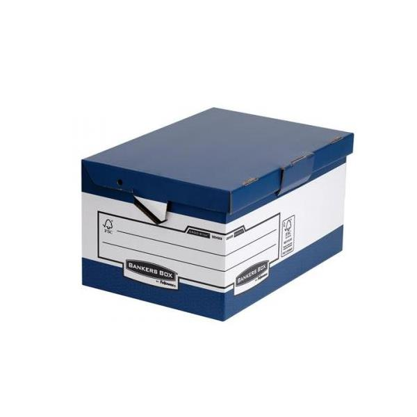 Bankers Box by Fellowes Ergo Stor Maxi FastFold [Pack 10]