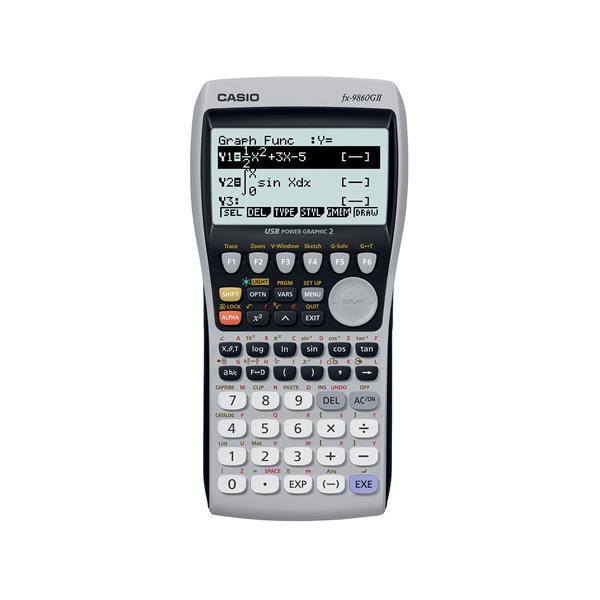 Casio FX-9860GII Graphic Calculator Silver