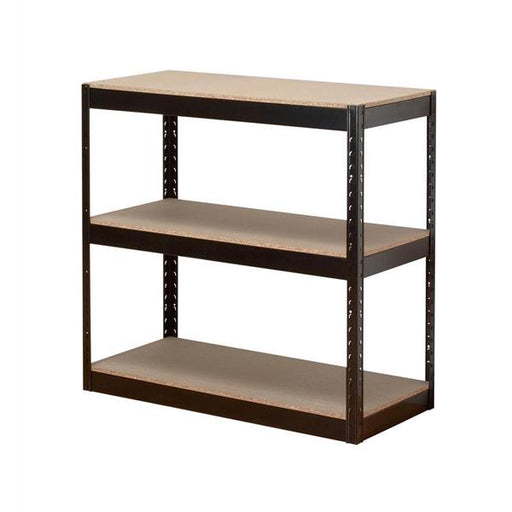 Influx Storage Shelving Unit Heavy-duty Boltless 3 Shelves Capacity 3x 150kg W950xD450xH940mm Black