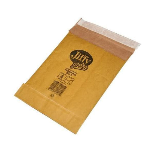 Jiffy Padded Bag Envelopes Mini Pack No.0 Brown 135x229mm Ref JPB-MP-0-10 [Pack 10]