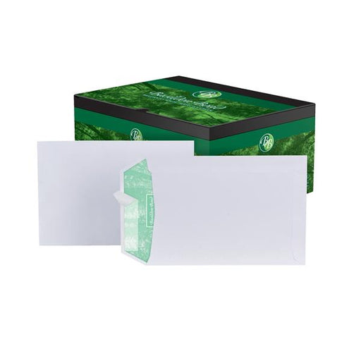 Basildon Bond Envelopes Pocket Peel and Seal 120gsm White C5 [Pack 500]