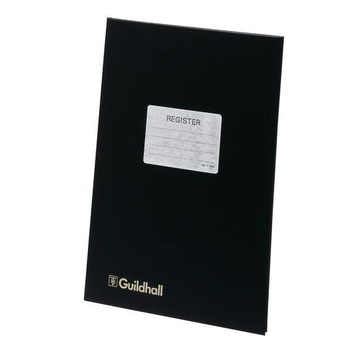 Guildhall Attendance Register 24 Openings 298x203mm Black Ref T1030Z