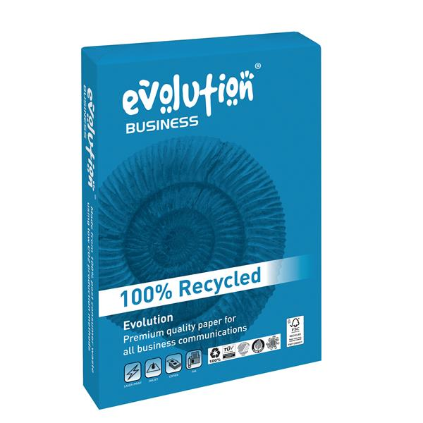 Business Evolution Recycled Paper 80gsm A4 White Ref EVBU2180 [500 Sheets]