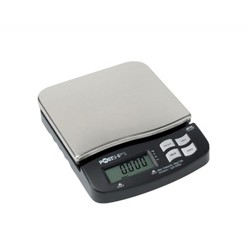Postship Lite Scale 1g Increments Capacity 6kg Chrome and Black