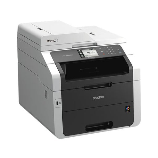 Brother Colour Laser Multifunctional Printer Duplex Network Wi-Fi A4 Ref MFC9340CDW