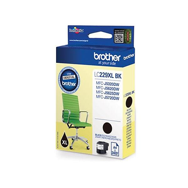 Brother Inkjet Cartridge Page Life 2400pp Black Ref LC229XLBK
