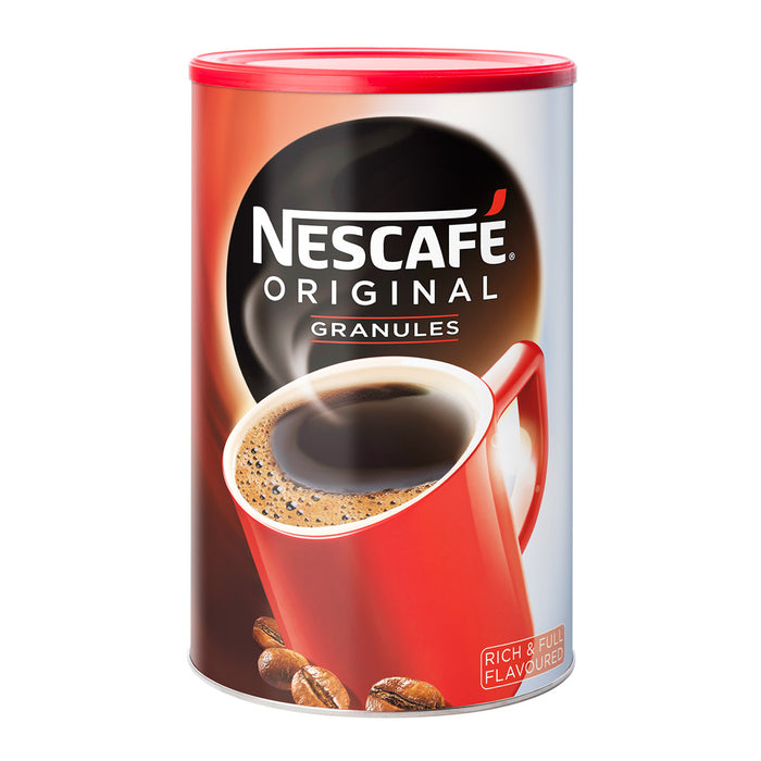Nescafe Original Instant Coffee Granules 1kg Bulk Tin