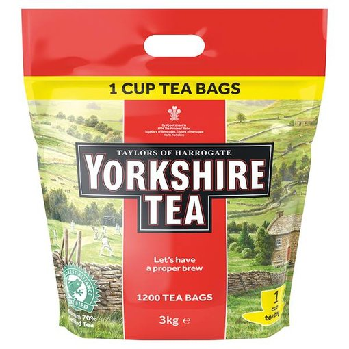Yorkshire Tea Bulk Pack (1200 Tea Bags)