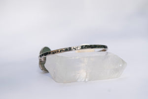 Sea Glass Cuff Bracelet