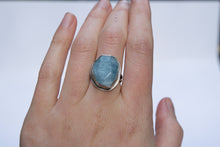 Aquamarine Neptune's Treasure Ring