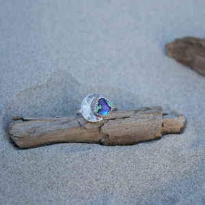 Luna Ring ::: Abalone