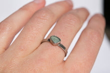 Sea Glass Stacking Ring