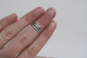 Sterling Silver Midi Ring Set