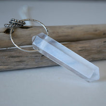 Quartz Crystal Point Necklace
