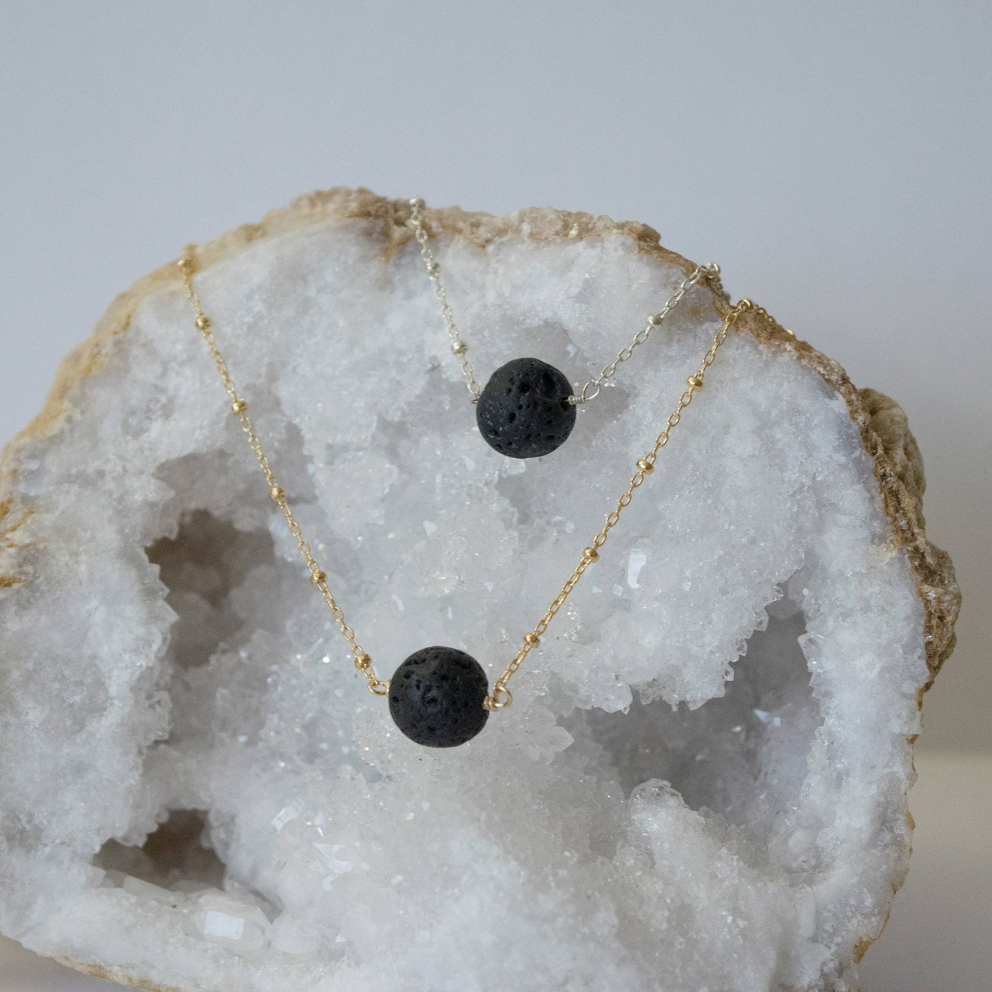 Lava Bead Diffuser Necklace