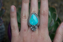 Among the Wildflowers Turquoise Ring