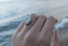 Sea Glass Pottery Ring