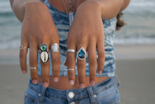 Mermaid's Dream Abalone and Cowrie Shell Ring