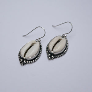 Calypso Cowrie Earrings