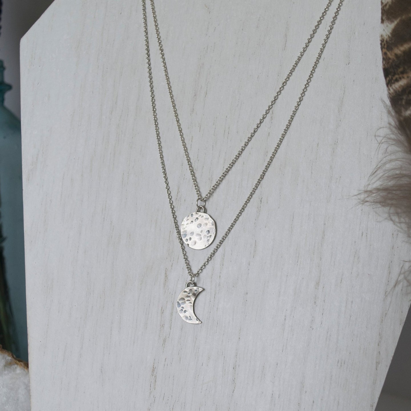 Moon Phase Layering Necklace