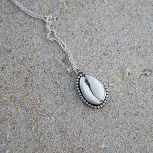 Mini Cowrie Shell Necklace