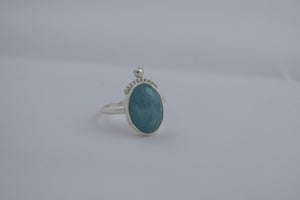 Totem Ring - Aquamarine