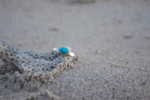 Small Turquoise Stacking Ring