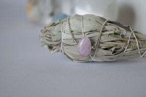 You're a Gem Necklace: Kunzite