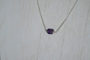 You're a Gem Necklace: Amethyst
