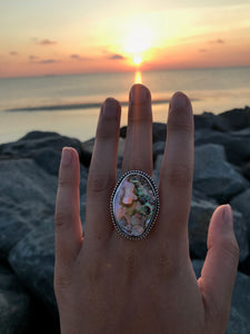 Abalone Queen Ring