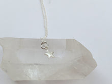Sterling Silver Star Charm Necklace