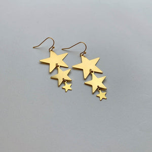 Star Trio Earrings