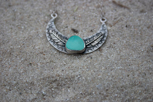 Turquoise Moon Necklace