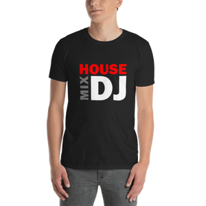 Exclusive HMDJ Logo Black Short-Sleeve Unisex T-Shirt