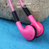 HANGRUI Luminous Glowing Earphone LED Night Light In ear Headset Flat Earbuds Glow in the Dark For iphone phones fone de ouvido