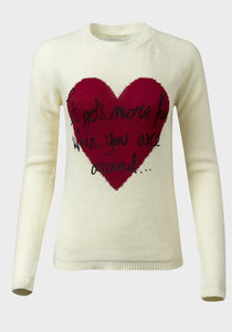 Heart Motif Knitted Jumper