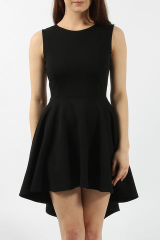 High low skater dress