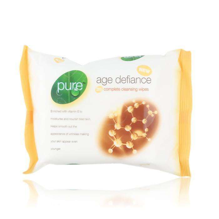 Pure Age Defiance Face Wipes